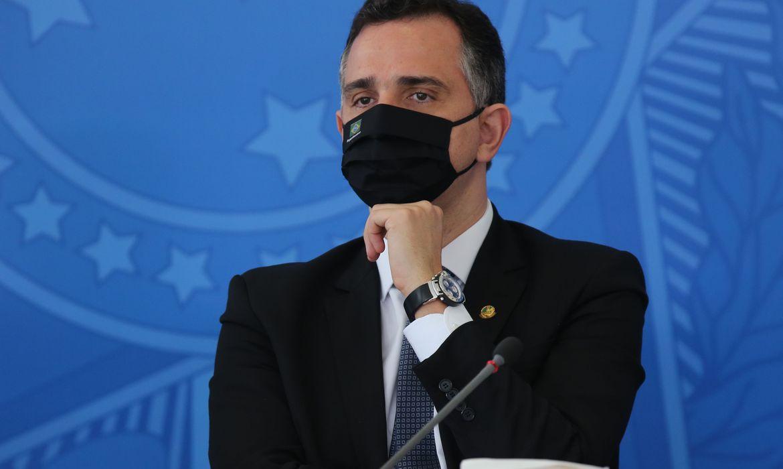 Rodrigo Pacheco leu o requerimento de criação da CPI da Covid no Senado