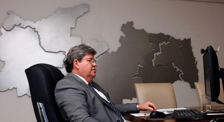Governador João Azevêdo anunciou novas vagas para concurso da Polícia Civil da Paraíba