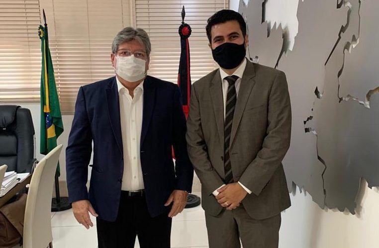 João Azevêdo e Wilson Filho