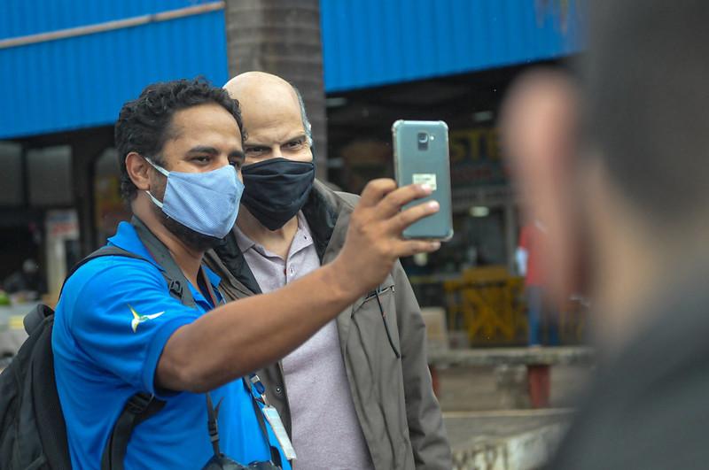 Medição aponta que máscaras de tecido protegem entre 20% e 60% o usuário da covid-19